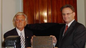 Bob Hawke and Mark Latham