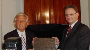 Bob Hawke and Mark Latham